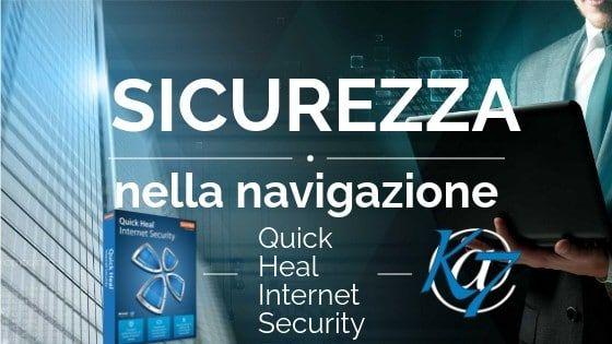 Quick Heal Internet Security : sicurezza nella navigazione