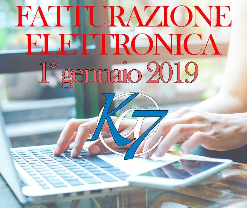 Fatturazione Elettronica: obbligatoria da gennaio 2019