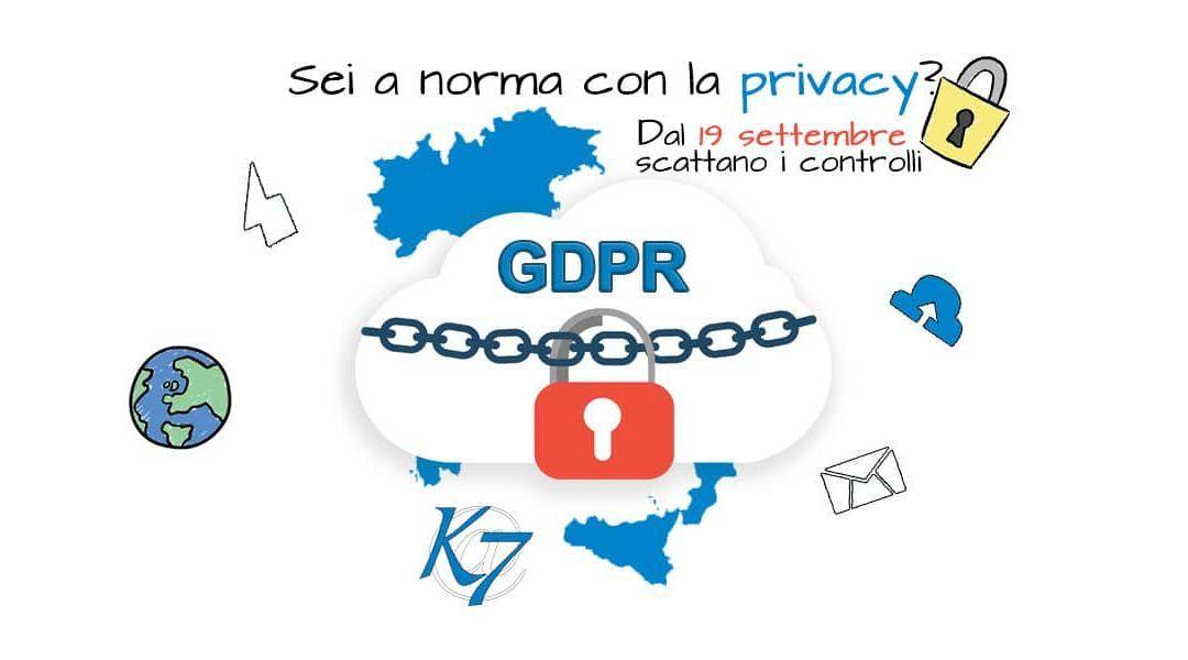 Sei a norma con la privacy ? Affrettati, non hai più molto tempo, dal…
