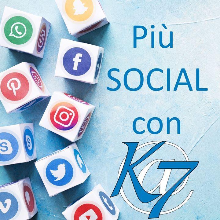 """Più """"Social"""" con Key Seven ▪️ Rafforza la tua presenza online e amplia i…"""
